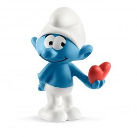 Schleich 20817 Smurf met hart