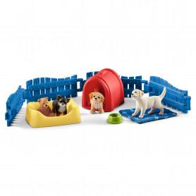 Schleich 42480 Puppy Pen