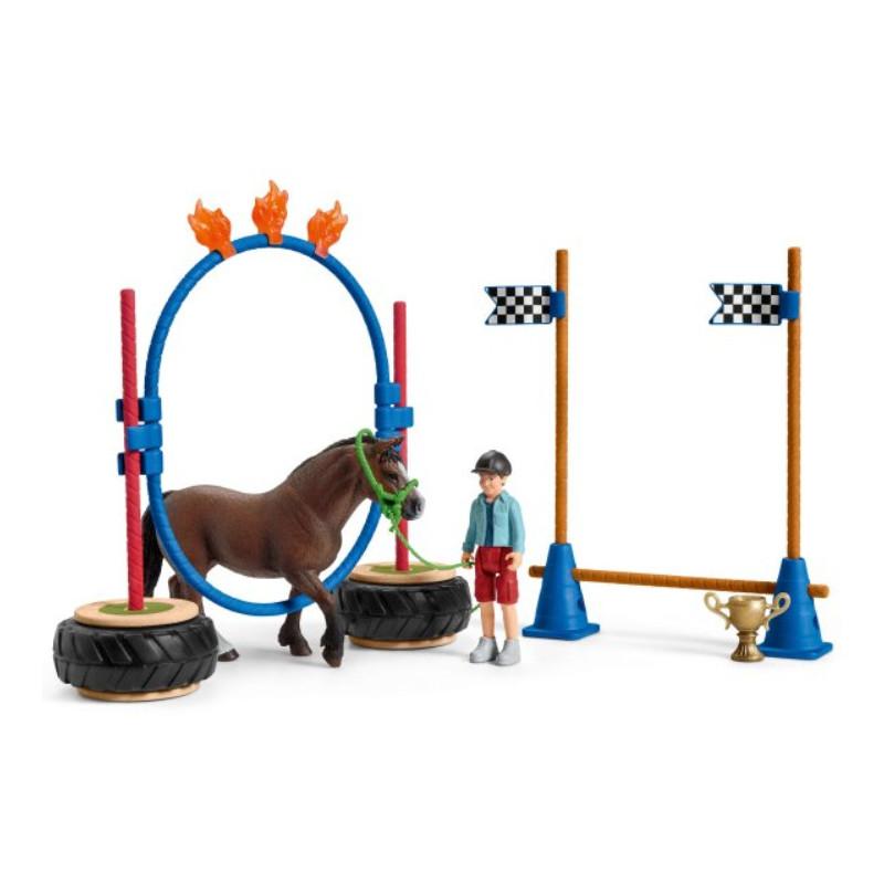Schleich 42482 Pony agility race