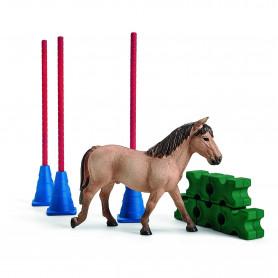 Schleich 42483 Slalom pour poney