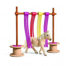 Schleich 42484 Shetland Pony Fladderend Gordijn