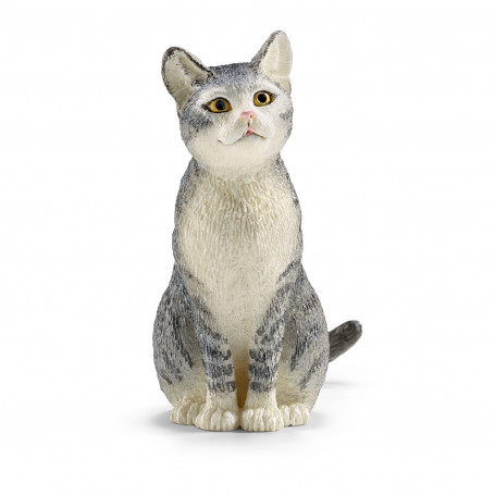 Schleich 13771 Cat, sitting