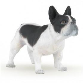 Papo 54006 Franse Bulldog zwart/wit