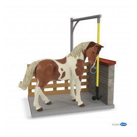 Papo 60116 Horse washing box ( excl. horse )