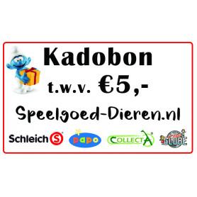 Credit voucher € 5,00