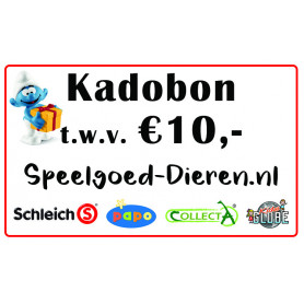 Credit voucher € 10,00