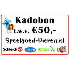 Credit voucher € 50,00
