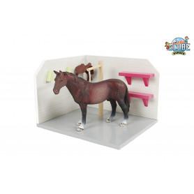 Kids Globe boîte de lavage pour cheval rose (sans accessoires) 610205