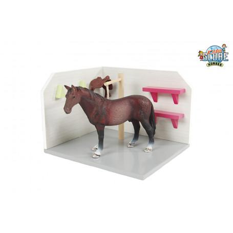 x Kids Globe Paarden Wasbox