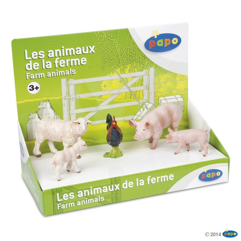 Papo 80300 Farm animal set