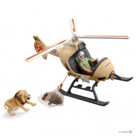 Schleich 42476 Helikopter dierenredding