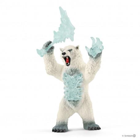 Schleich 42510 Blizzard bear with weapon