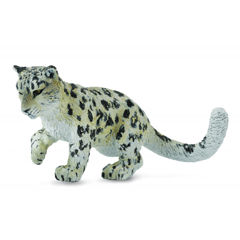 Collecta 88497 Bebe Leopard Des Neiges