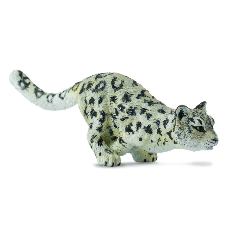 Collecta 88498 Snow Leopard Cub running