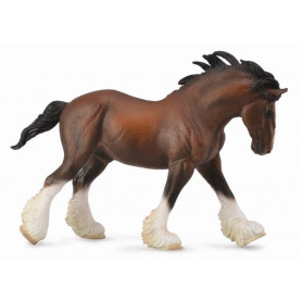 Collecta 88621 Clydesdale Stallion Bay