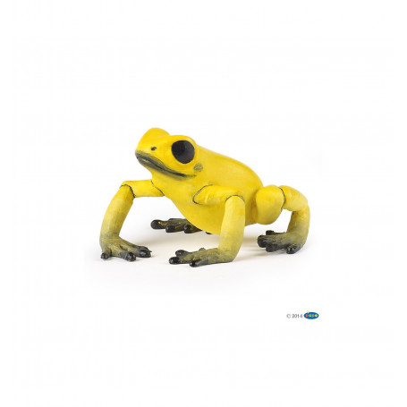 Papo 50174 Equatorial yellow frog