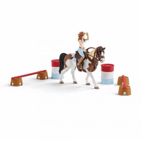 Schleich 42441 Hannah's western riding set
