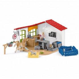 Schleich 42502 Tierarzt-Praxis mit Haustieren