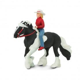 Safari 154005 Western ruiter op paard