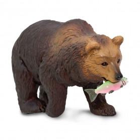 Safari 281929 Grizzly beer met vis