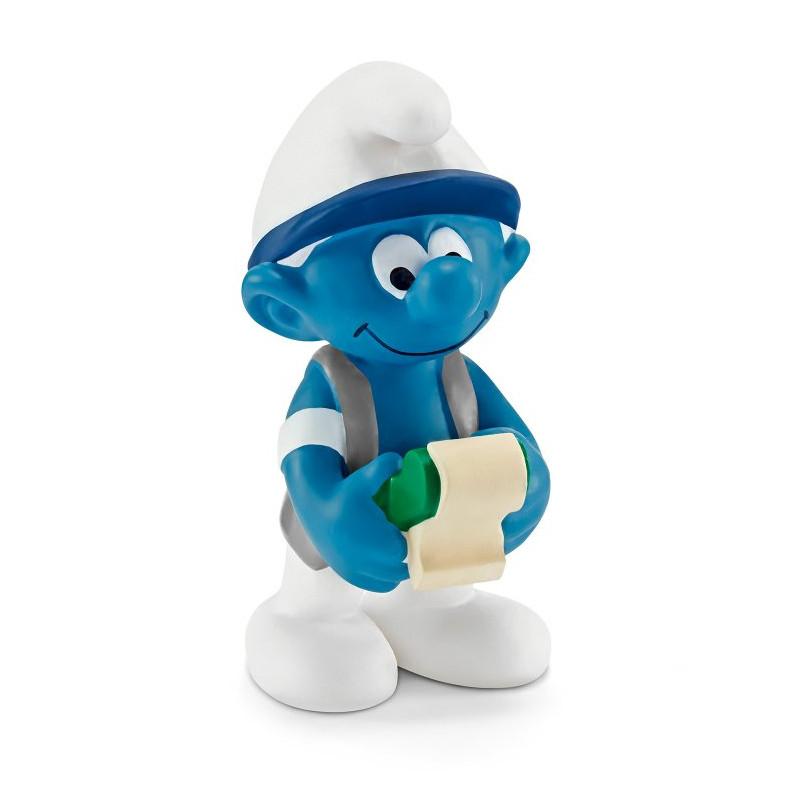 Schleich 20772 Accountant Smurf
