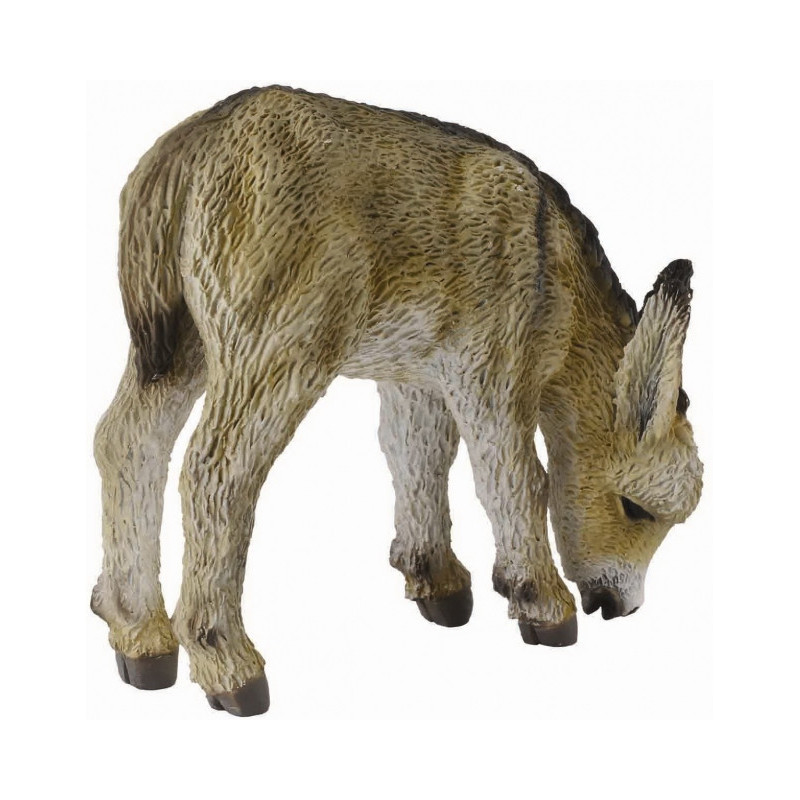 Collecta 88408 Donkey Foal grazing