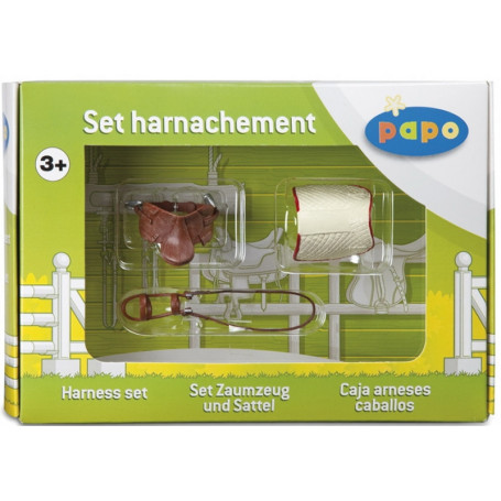 Papo 50091 Zadelset gift box