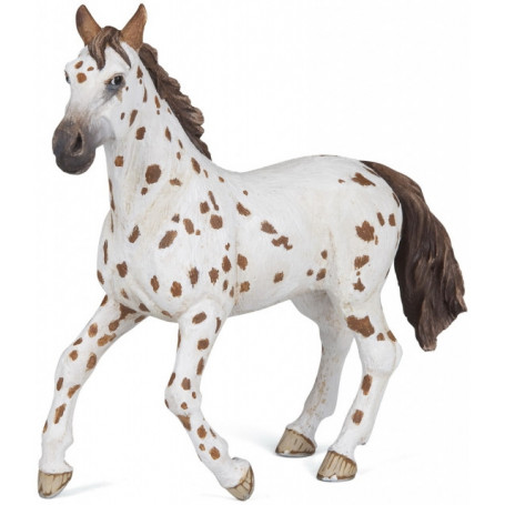 Papo 51509 Brown appaloosa mare