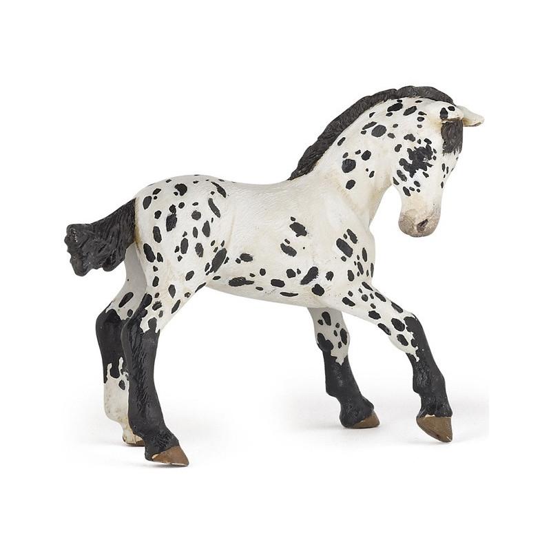 Papo 51540 Appaloosa Foal (black)