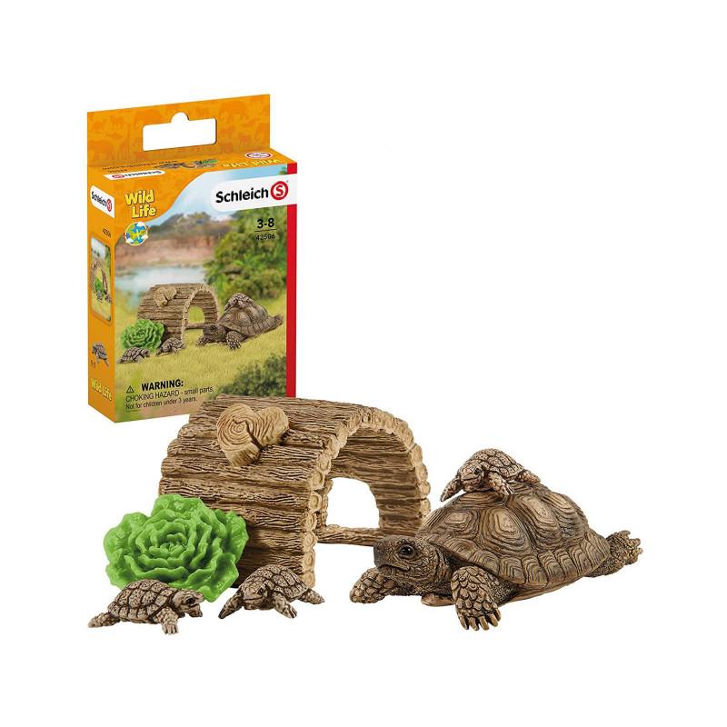 Schleich 42506 Tortoise home