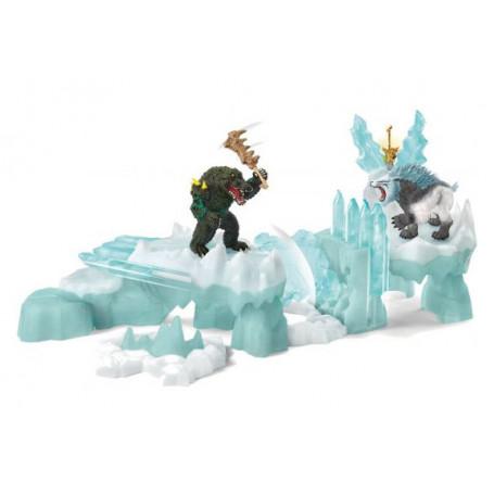 Schleich 42497 Aanval op het ijskasteel