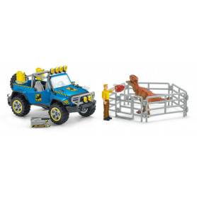 Schleich 41464 Off-road vehicle with dino outpost