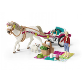 Schleich 42467 Paardenkoets voor de paardenshow