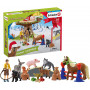Schleich 98063 Adventskalender Farm World 2020