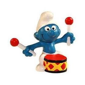 Schleich 21004 Drummer Smurf in blister verpakking