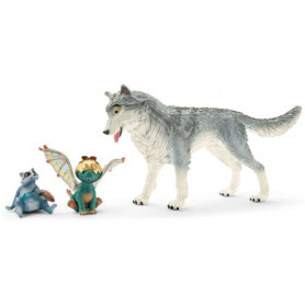 Schleich 70710 Movie Lykos, Nugur and Piuh