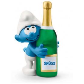 Schleich 20821 Smurf with bottle
