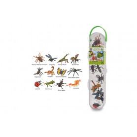 Collecta 89106 Mini Insecten & Spinnen Set van 12 stuks