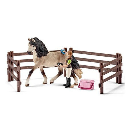Schleich 42270 Horse Care Set Andalusian Exclusive