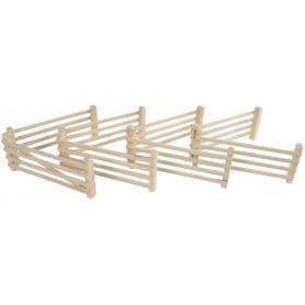 Kids Globe 8 houten hekken