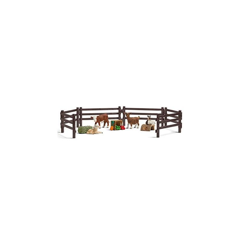 Schleich 21052 Speelset kinderboerderij