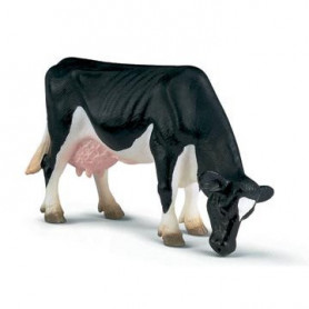 Schleich 13141 Vache Holstein broutant