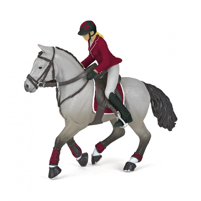 Papo 51563 Competitie ruiter op paard (2020)