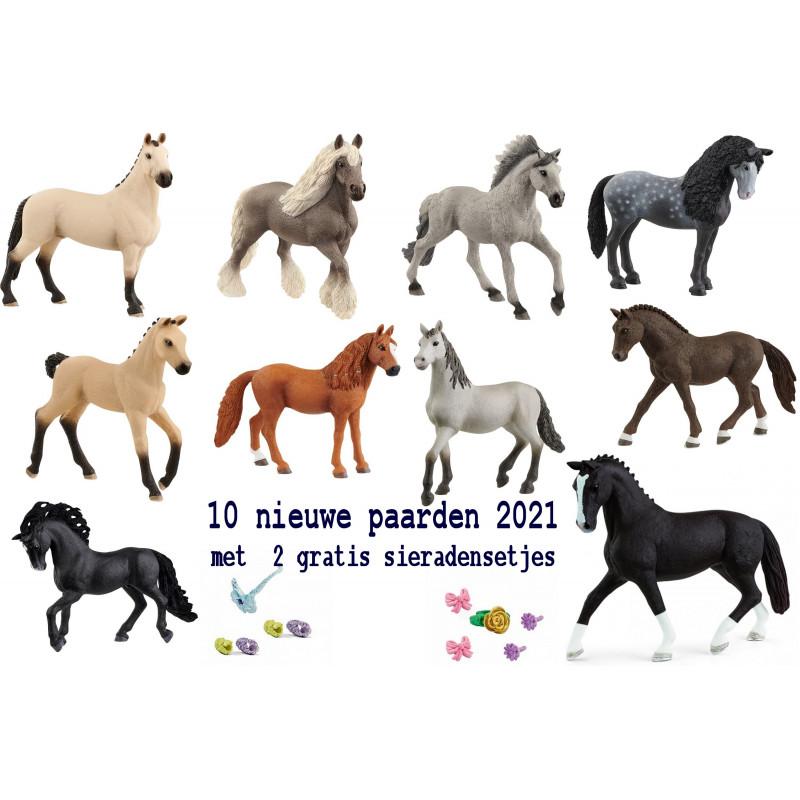 10 Nieuwe paarden 2021