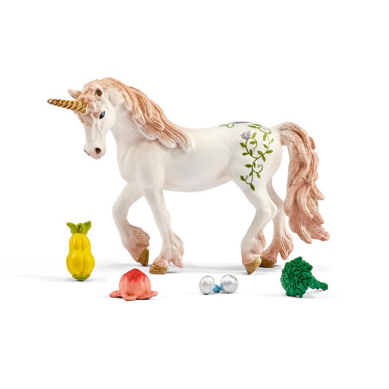 Schleich 42141 Voedingsset voor Eenhoorn of Pegasus