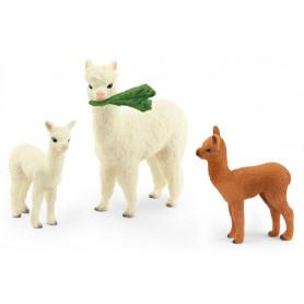 Schleich 42544 Alpacafamilie