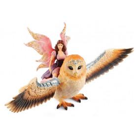Schleich 70713 Fairy in Flight on Glam-Owl