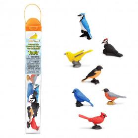 Safari 678304 Backyard Birds Toob