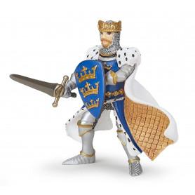 Papo 39953 Roi Arthur bleu