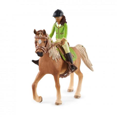 Schleich 42542 Horse Club Sarah & Mystery